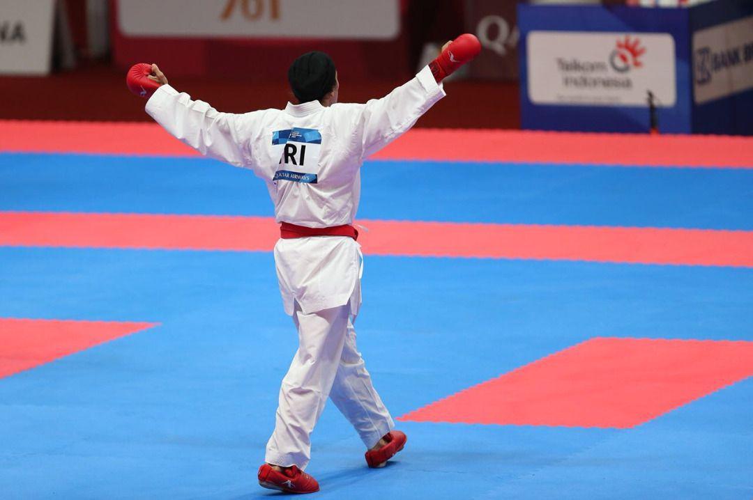 بانوی کاراته ایران به فینال لیگ جهانی رسید