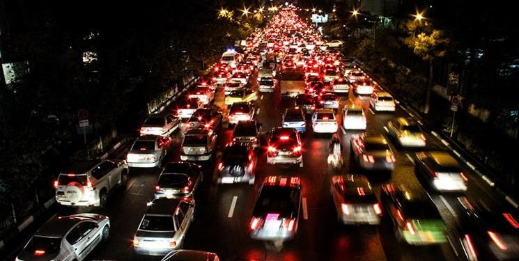 ترافیک سنگین در ورودیهای شهر تهران