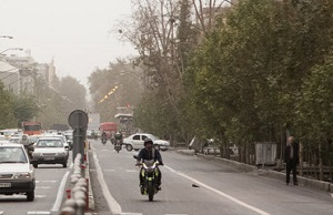 افزایش موقتی غلظت آلاینده ها در هوای تهران