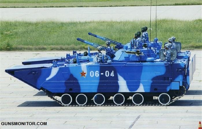 خودروهای جنگی تایپ 05 چین(+تصاویر)