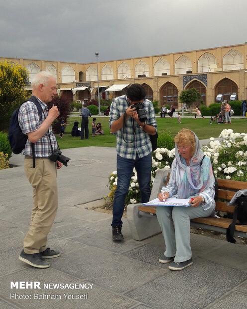 گردشگران خارجی در ایران (عکس)