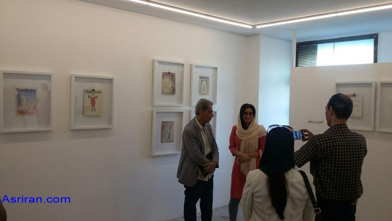 نمایشگاه سه کاریکاتوریست برجسته ایرانی / به تماشای 60 سال بازی «تاش و خط»