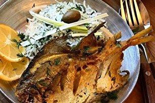 طرز تهیه ماهی با سس شوید