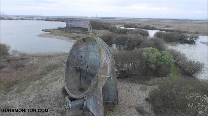 سازه های مرموز بتنی در خط ساحلی بریتانیا!(+تصاویر)