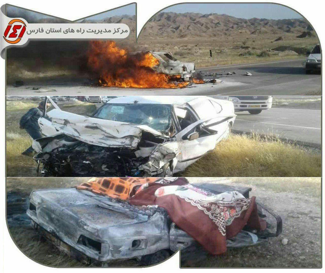 7 کشته در پی تصادفی مرگبار در استان فارس