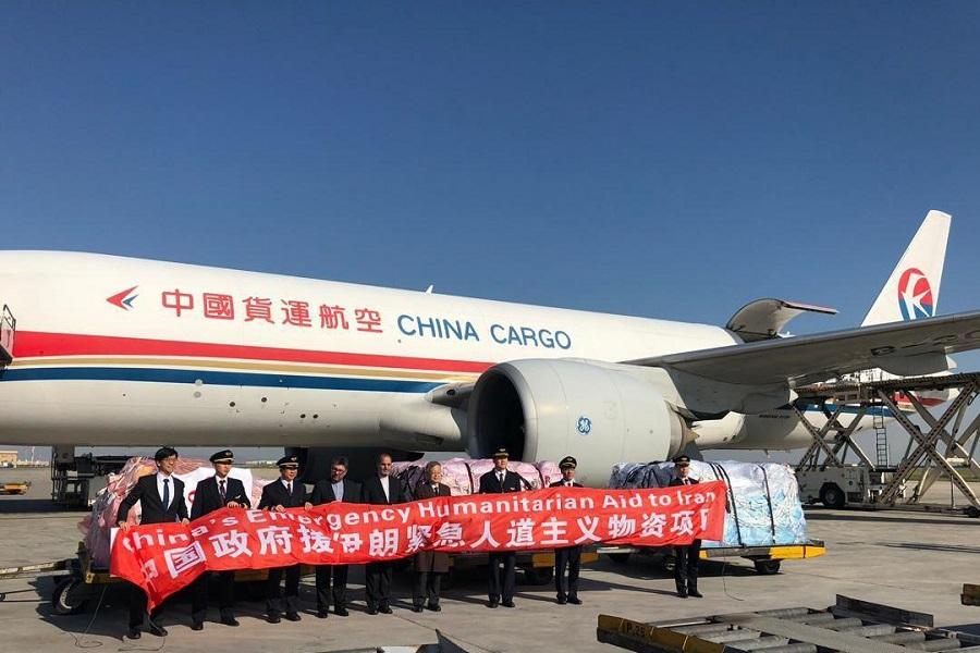 ارسال نخستین کمک های چین به سیل زدگان ایران