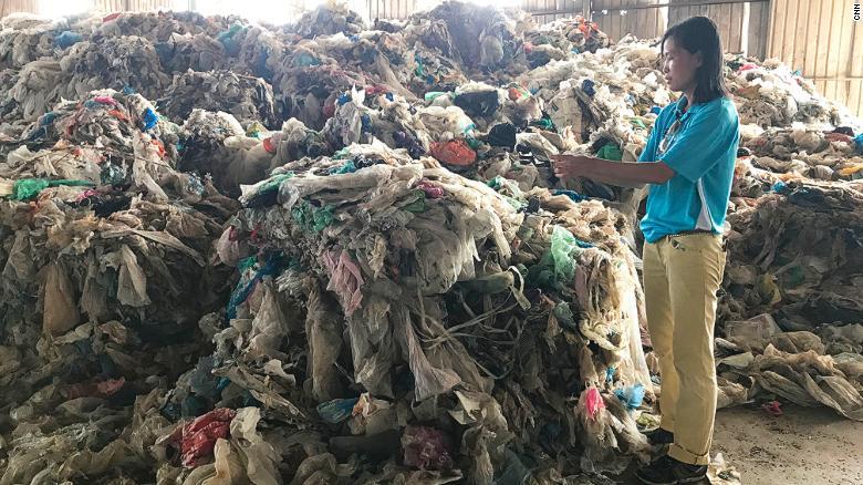 زبالههای پلاستیکی آمریکا به کجا میرود؟