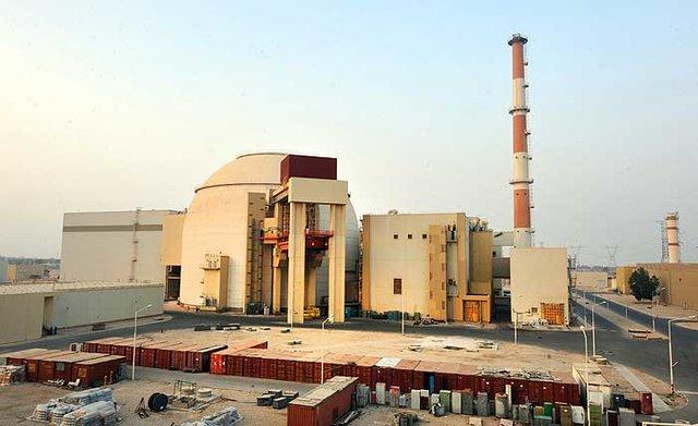تولید برق نیروگاه اتمی بوشهر