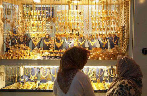 کاهش قیمت طلا رکورد زد