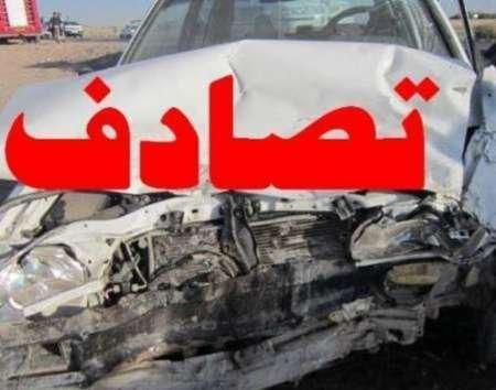 مرگ عروس و داماد در حادثه رانندگی فارس