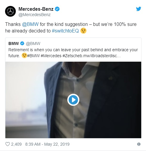 جنگ تبلیغاتی بامو در خصوص بازنشتگی مدیر عامل بنز