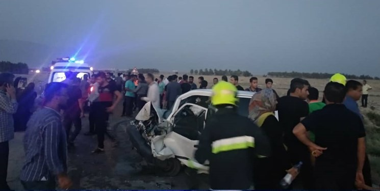 4 کشته در تصادف جاده بوشهر
