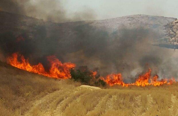 آتش سوزی در دهلران/ خبری از بالگرد نیست