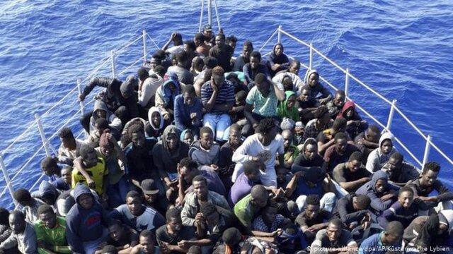 ممانعت تونس از ورود کشتی پناهجویان به بندر جرجیس