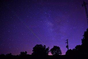 شگفتیهای آسمان شب در ایلام (عکس)