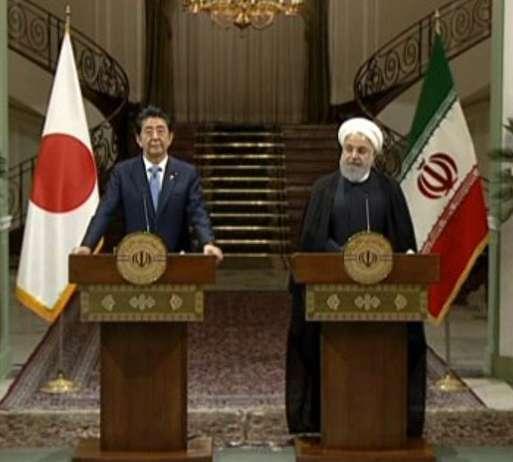روحانی در نشست خبری با شینزو آبه: خواهان جنگ با آمریکا نیستیم اما اگر به ما تحمیل شود به آن پاسخ خواهیم داد