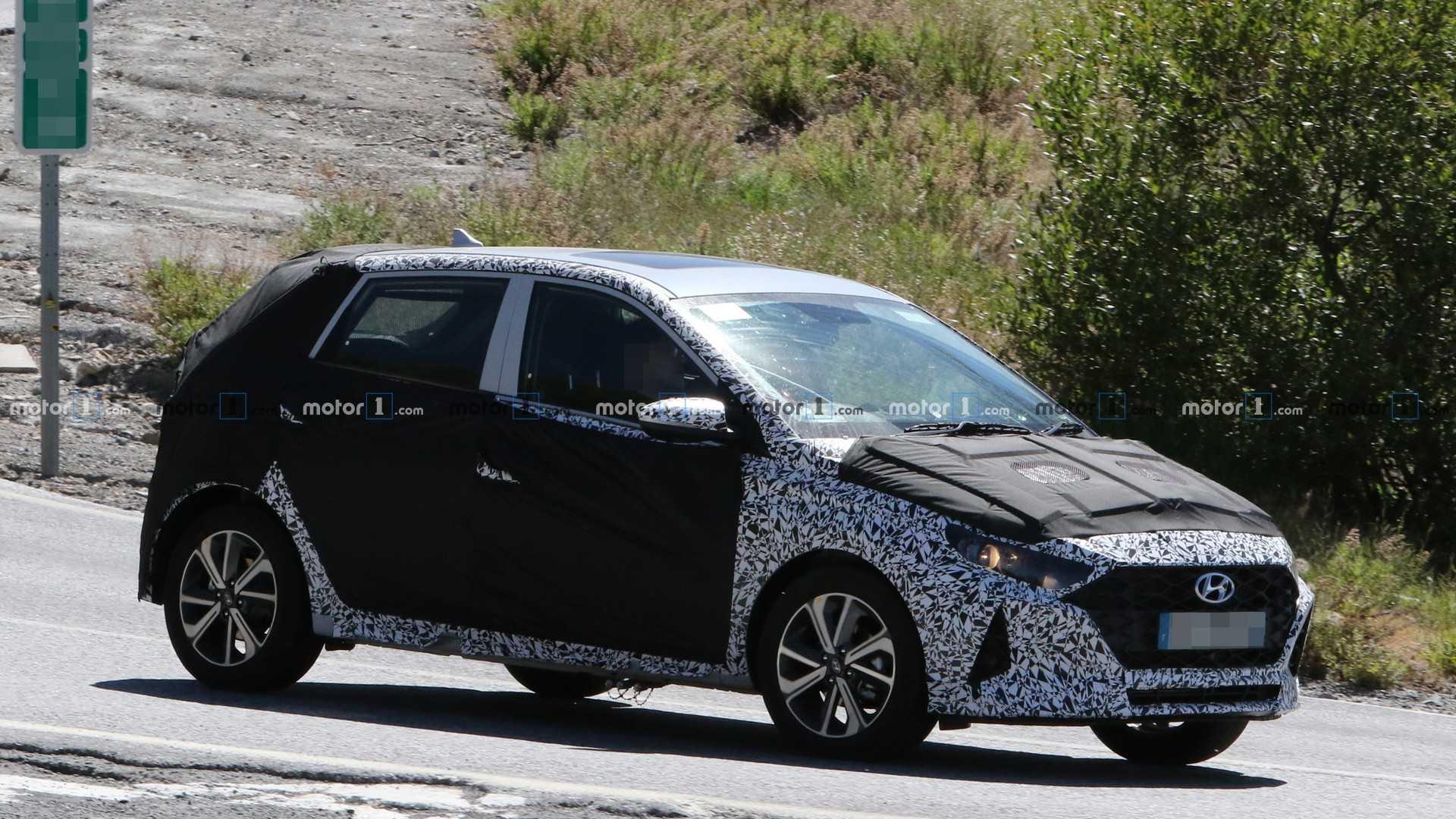 نسل جدید هیوندای i10 در حال تست های جاده ای دیده شد (+عکس)