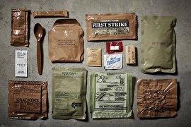 بهترین وعده های غذایی آماده برای نیروهای نظامی(+تصاویر)