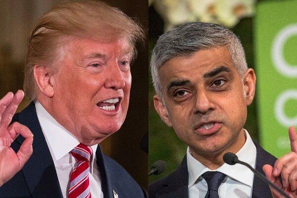 صادقخان (شهردار لندن): نباید برای پاسخگویی به توییتهای ترامپ وقت تلف کرد