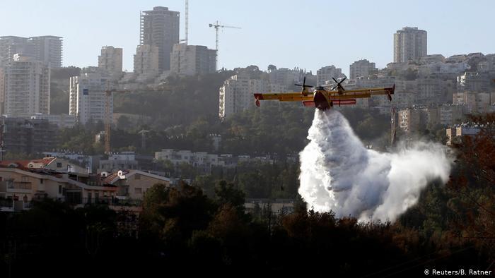 گرمایی بیسابقه در اسرائیل/ 45 خانه سوخته و 3500 نفر آواره شدهاند