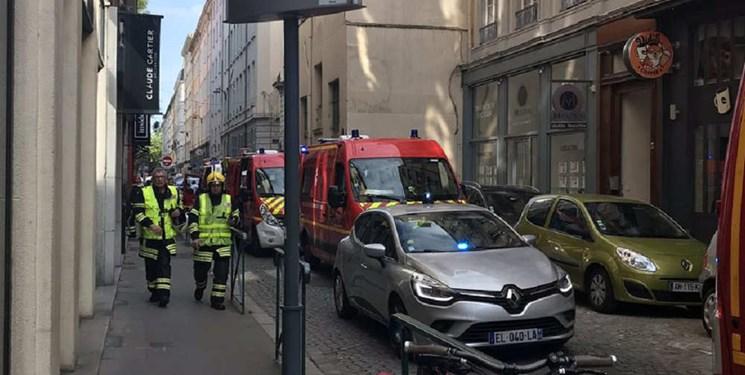 10 مجروح طی انفجاری در لیون فرانسه