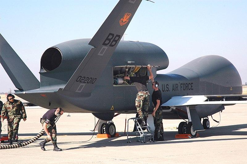 سپاه: سرنگونی پهپاد آمریکا در جنوب ایران