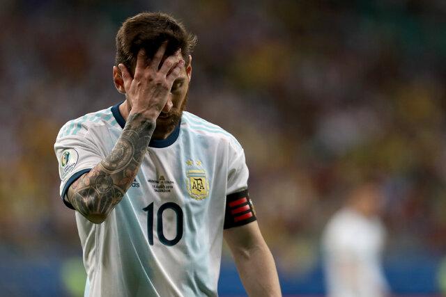 مسی: حذف شدن ما یعنی دیوانگی/ گل پاراگوئه ما را عصبی کرد