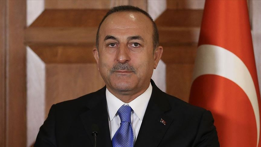 وزیر خارجه ترکیه وارد اصفهان شد