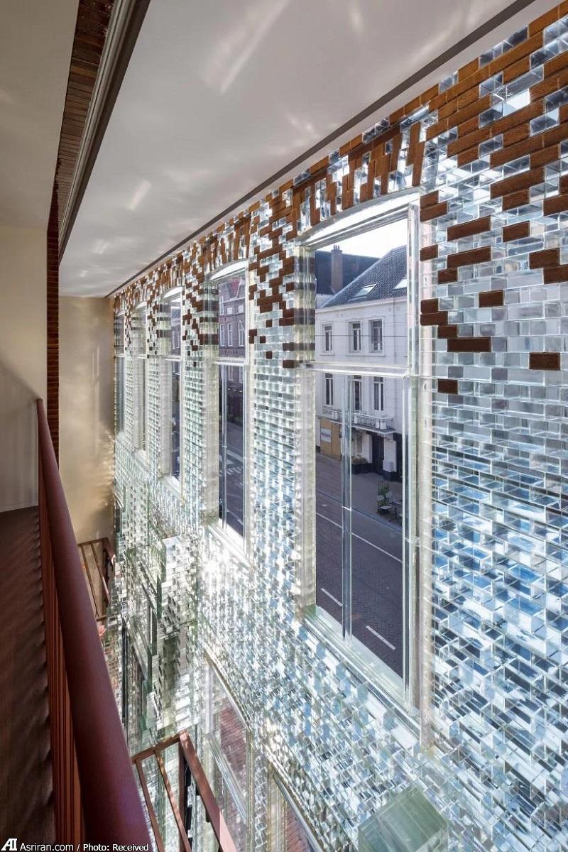 خانه شیشه ای ارمس در گرانترین خیابان هلند! (+تصاویر)