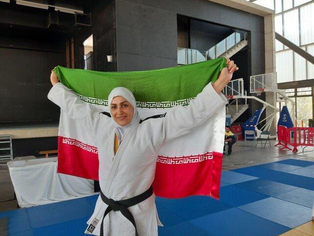 حاشیه های بازی های جهانی کارگری؛ دست ندادن دختر جودوکار ایرانی و قهرکردن مسئول مسابقات!