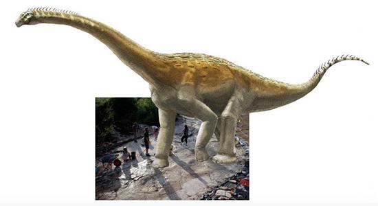 بزرگترین ردپای به جا مانده از دایناسورها در جهان (+عکس)