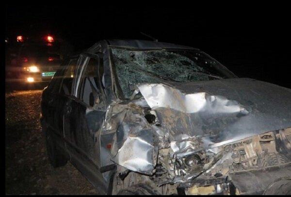 کشته شدن 4 نفر در تصادف کنارگذر شمالی اراک
