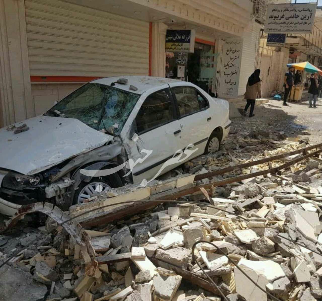 زلزله خوزستان؛ جان باختن یک نفر / تصاویری از خرابی ها