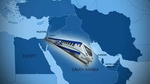 طرح اسرائیل برای ایجاد مسیر خط آهن میان اسرائیل و کشورهای جنوب خلیج فارس