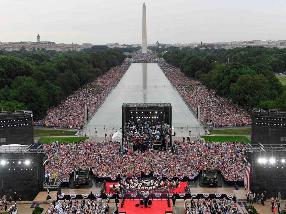 پنتاگون: 1.2 میلیون دلار، هزینه مانور نظامی جشن استقلال آمریکا
