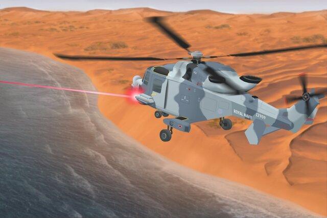 تولید لیزرهایی با قابلیت نابودی پهپاد و موشک توسط وزارت دفاع بریتانیا