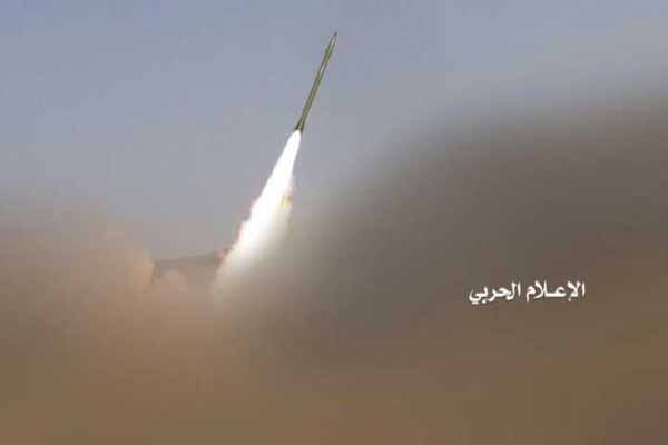 شلیک موشک بدر اف به مواضع ارتش عربستان