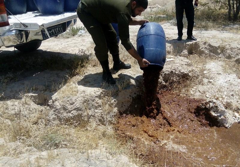 کشف و معدوم شدن 800 لیتر مشروبات الکلی در بوشهر