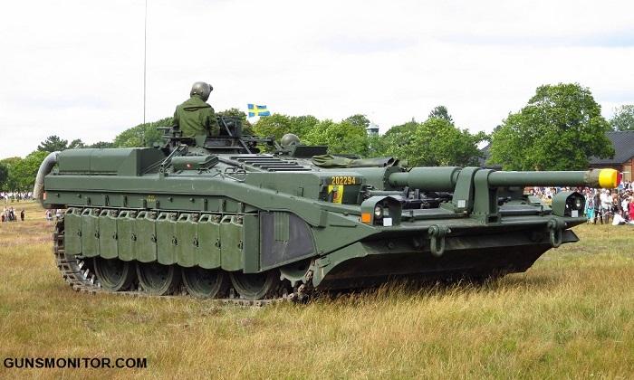 تانک سوئدی با طراحی متفاوت!(+تصاویر)