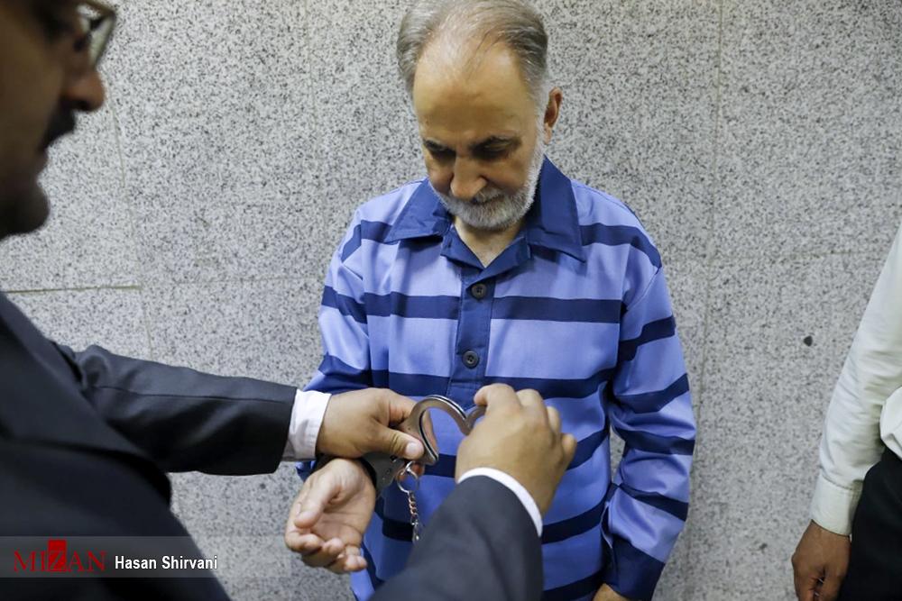 محاکمه علنی نجفی به اتهام قتل همسر (+فیلم و عکس)