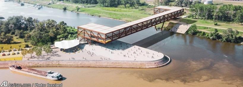 متفاوت ترین پل دانوب در صربستان!(+تصاویر)