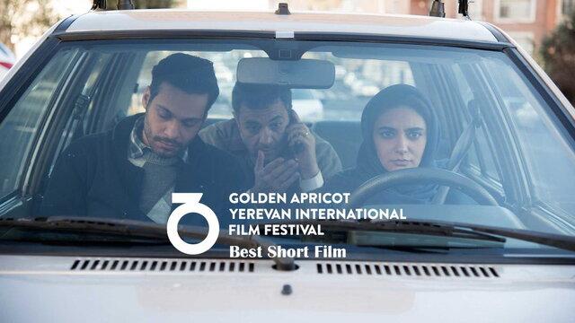 جایزه جشنواره «زردآلوی طلایی» برای «کلاس رانندگی» مرضیه ریاحی