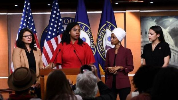 واکنش چهار نماینده زن کنگره به حملات ترامپ
