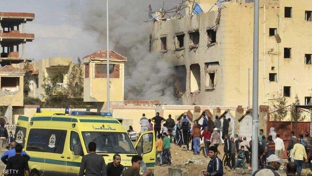 انفجار انتحاری در شبه جزیره سینای مصر