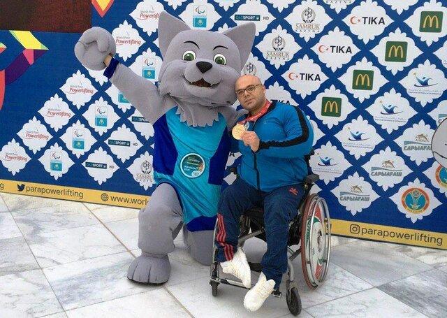 دومین مدال طلای وزنه برداری معلولان قهرمانی جهان برای صلحیپور