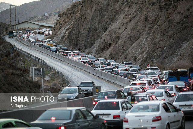 ترافیک سنگین کرج-چالوس/ انسداد شش محور
