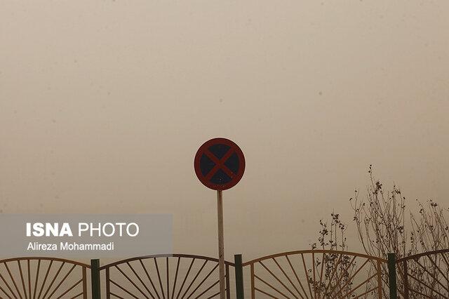 وزش باد شدید و کاهش کیفیت هوا در بیشتر نقاط کشور