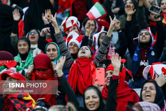 تاج به فیفا اعلام کرد: فدراسیون موافق ورود زنان به ورزشگاههاست