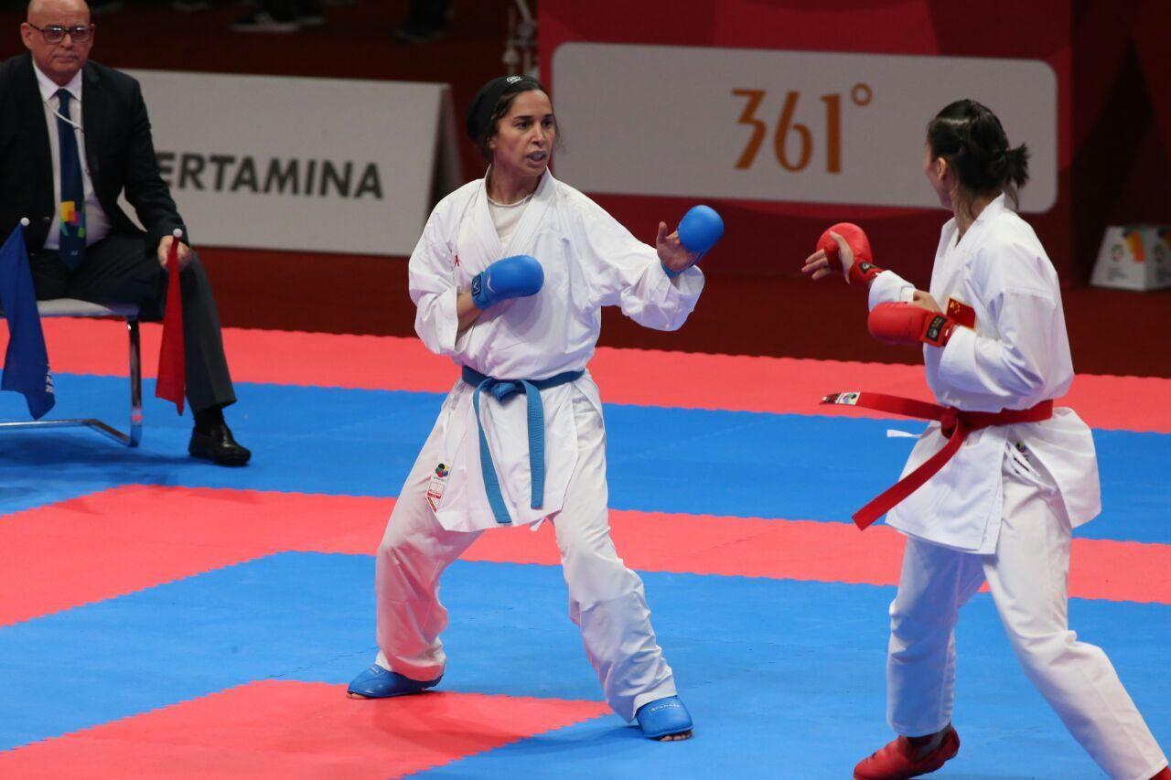 «رزیتا علیپور» دومین فینالیست تیم زنان کاراته ایران در آسیا
