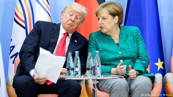 انتقاد مرکل از ترامپ به دلیل توهین به نمایندگان زن کنگره